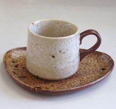 コーヒーカップソーサー ナチュラル 美濃焼
