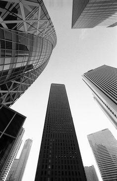 Shinjuku Skyscrapers, Tokyo, Japan