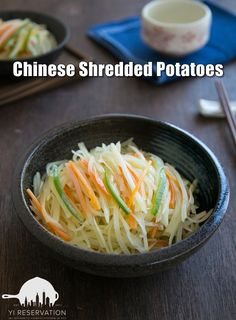 {recipe} Chinese stir-fried shredded potatoes