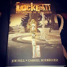 #locke&key 5 #mecanismos de #relojería #joe #hill