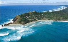 Byron Bay, Australia - Located in New South Wales, this Pacific Ocean side town is home to around 5,000 people. The town was named by the famous British sea captain James Cook in honor of Royal Navy officer John Byron and his ability to navigate the rough seas that the area is known for.