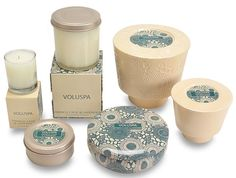Graphic Design, Packaging Design and Home Desgin Blog by New York Designer: Volupsa Candles Packaging
