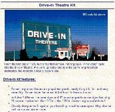 88 Drive-In theatre: Movie stuff for sale
