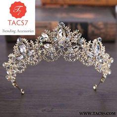 Baroque Luxury Crystal Bridal Accessories