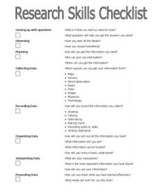 taking risks for st century research skills teacher stuff  a checklist for working through research skills