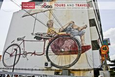 #Street #Art #rickshaw #Risciò at #GeorgeTown #Penang Malaysia Exclusive #Travels and #Tours in South East Asia with Incoming Asia.  The best #Holidays in #Thailand #Myanmar #Malaysia #Singapore #Indonesia #Vietnam #Laos #Cambodia  #Viaggi e #tours esclusivi nel sud est asiatico con #incomingasia Le migliori #vacanze in #Thailandia #Myanmar #Indonesia #Malesia #Singapore #Laos #Cambogia #Vietnam http://www.facebook.com/pages/Incoming-Asia-Tour-Operator/210782032279488