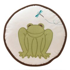 Froggy Pillow!