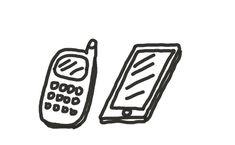 Vanha kännykkä ja iphone. Disruptio iskee vanhoihin rakenteisiin tuhovoimalla – kannattaisiko tehdä se itse? Treenaa: Mitä nippeleitä tai yksitiskohtia voisit vähentää?