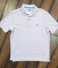 54501b08476 IZOD Men's Advantage Performance Golf Short Sleeve, Solid Polo Shirt M or L  | eBay