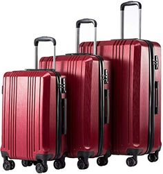 EbuyChX Luggage maleta Bagpack Travel Adjustable Strap Belt 3.3ft 2pc Black