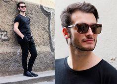Fashops T Shirt, Zara Pants, Dolce & Gabbana Shoes #fashion #mensfashion #menswear #style #outfit