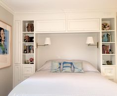 Ikea Storage Wardrobe Small Spaces Ideas The Effective Pictures We Offer You About attic Bed Room A quality picture can tell you many thi Bedroom Built Ins, Small Bedroom Storage, Small Master Bedroom, Ikea Storage, Storage Ideas, Storage Headboard, Headboard Ideas, Storage Cabinets, Storage Shelves