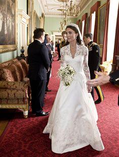 mariage : les plus belles robes de mariee royales Kate Middleton par Sarah Burton