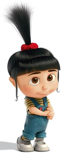 Agnes looks so cute!