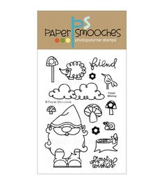 Paper Smooches Clear stamps Forest Whimsy - Joann Fabric