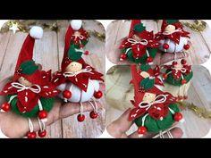 Christmas Pumpkins, Christmas Ornament Crafts, Christmas Mantels, Christmas Minis, Xmas Crafts, Christmas Projects, Felt Crafts, Decor Crafts, Diy And Crafts