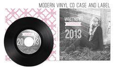 High School Senior CD template by Jamie Schultz Designs