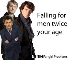 =( These men are not twice MY age. Am I an older than average fangirl?  Have I reached FanSpinsterhood? Should i get a cat?