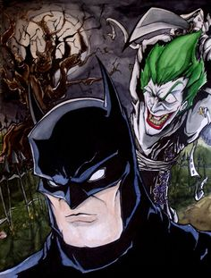 Batman vs. Joker by MatthewFletcher720