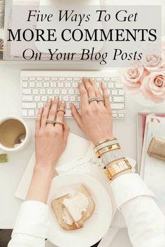 Katie Elizabeth: How To Get More Blog Comments