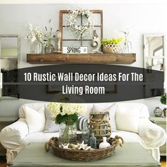 10 Rustic Wall Decor Ideas For The Living Room Paris Loft Barn Door Picture Frame This frame has openings for two pictures. Barn Door Pictures, Paris Loft, Decorating Coffee Tables, Rustic Wall Decor, Easy Home Decor, Minimalist Decor, Entryway Tables, Living Room, Beauty Tips