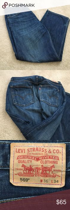 Men's Levi's jeans Great condition barely worn 👖 jeans. No trades Levi's Jeans Straight