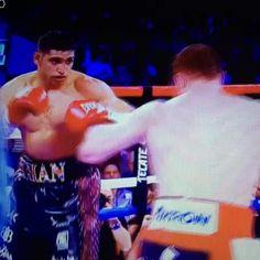 Canelo Alvarez brutal KO of Amir Khan #Boxing