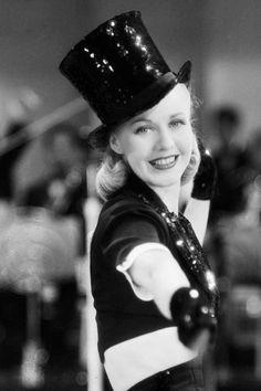 1937 Ginger Rogers in Stage Door--L'esprit swing's