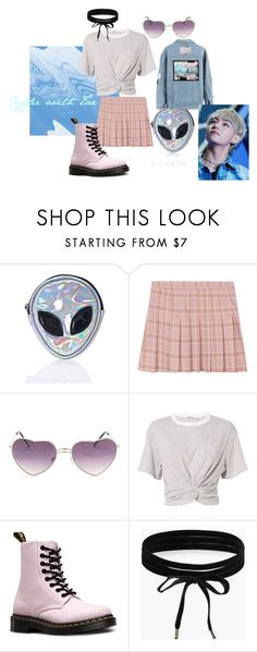 """""""Senza titolo #200"""" by serenaferla on Polyvore featuring moda, Disturbia, T By Alexander Wang, Dr. Martens e Boohoo"""