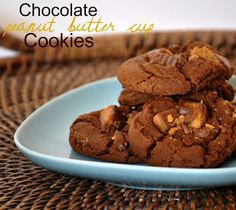 The Farm Girl Recipes: Chocolate Peanut Butter Cup Cookies