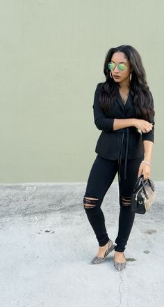 How to Remix Your Everyday Blazers http://pinkklipstick.com/how-to-remix-your-everyday-blazer/