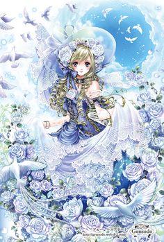 Birthstone princess by manga artist Shiitake.