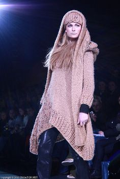 Igor Galaš is the most awarded Croatian fashion designer abroad. He specialized in big, voluminous knitwear.