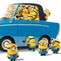 Road trip With The Minions