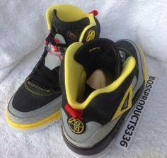 on sale 1f7a9 e1c0d Jordan Spiz ike – Black – Challenge Red – Metallic Silver – Tour Yellow    Release Date