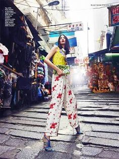 chinatown night fashion editorial - Google Search