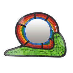 Rainbow Snail Mirror