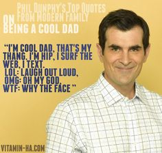 love me some phil dunphy! He's from Oregon AND he's an adoptive dad!