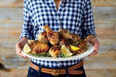 Sweet Tea-Brined Chicken (00s) - 50 Years of Southern Recipes - Southernliving. Sweet tea has become an iconic Southern flavor for pound cakes, ice cream, and even fried chicken. In this recipe, we brined pieces of chicken in the elixir before grilling to impart subtle sweetness and moisture.    Recipe: Sweet Tea-Brined Chicken