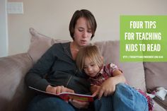 four tips for teaching kids to read