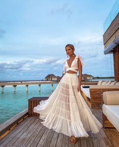 Honeymoon Outfits, Vacation Outfits, Holiday Outfits, Summer Outfits, Summer Dresses, Mode Ootd, Elegantes Outfit, Look Chic, Spring Summer Fashion
