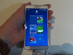 Samsung Galaxy Note 3 - Hands on deutsch (Video)  #Hands_On #HandsOn #IFA2013 #SamsungGalaxyNote3 #IFA #GalaxyNote3 #Samsung