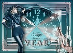 ASDwebdesigns - Happy New Year - Original by Liberty Imaginations