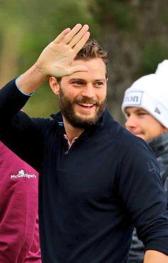 Golfing in Scotland Jamie Dornan