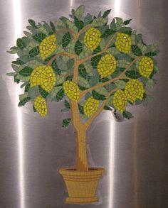 Lemon Tree Restaurant mosaic commission, Kirkbymoorside, North Yorkshire by Sue Kershaw