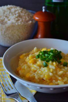 Risoto de milho verde. #pitadapalpitada #food #photography #milho #risoto #receita