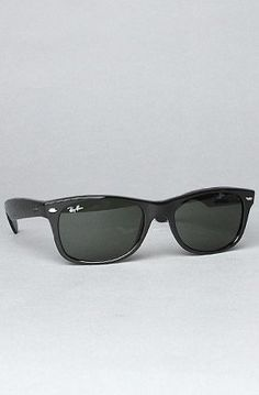 40860d9cbd The New Wayfarer Sunglasses in Black by Ray BanReceive off of your purchase  at Karmaloop. Use it on PLNDR and save At checkout