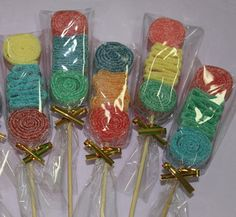 24 MINi Candy Kabobs by CandyCrushEvents on Etsy, $49.95