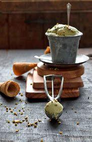 """Sweet  Sour: HELADO DE PISTACHO. Preparacion tradicional y con """"Dayelet"""", sin huevo y sin azucar."""