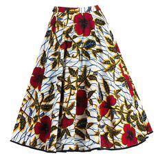 Zaire Skirt hibiscus - Spring Summer 2015 - Online Store - Lena Hoschek Online Shop